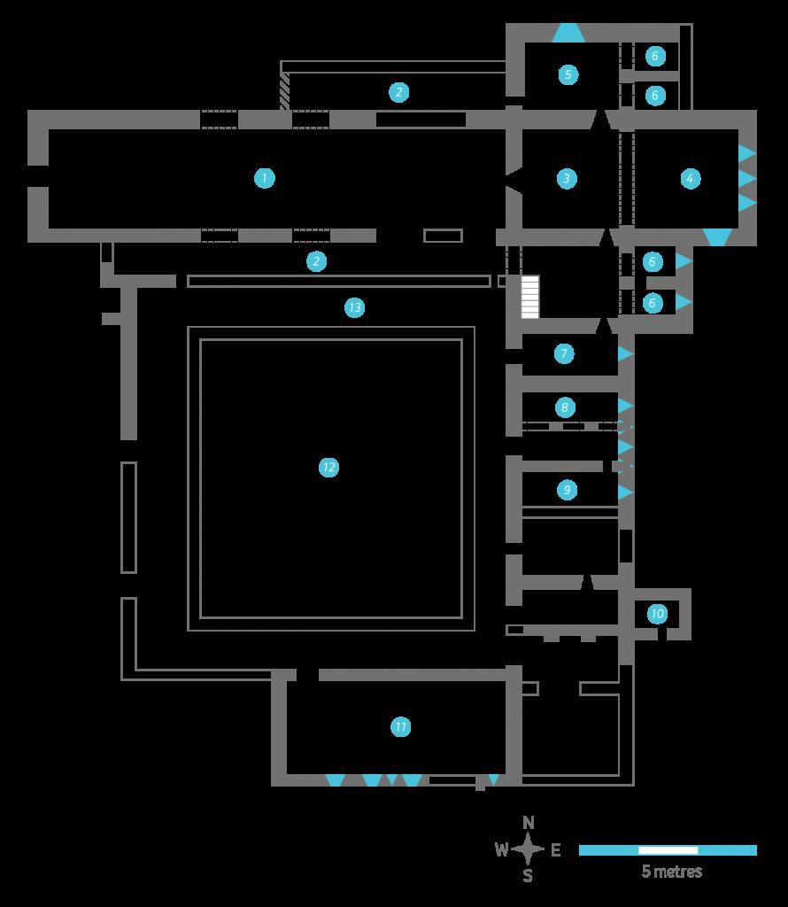 Abbeyknockmoy OCist Plan