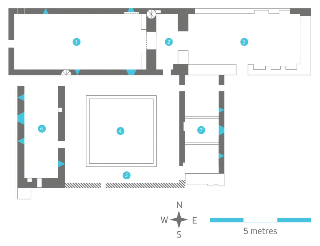 Castlelyons Friary Floorplan