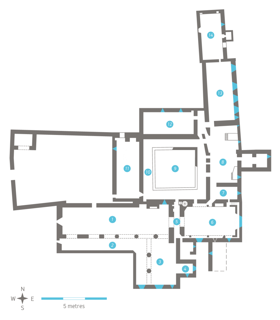 Image of Plan of Timoleague Franciscan Friary