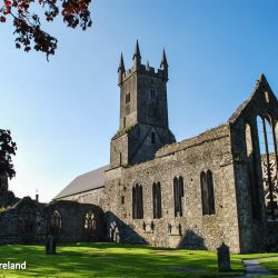 Ennis Clare Friary Franciscan Medieval Ireland Ruin Religious History Art Gothic Tracery St Francis Cloister Sculpture Church Catholic