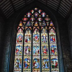 Kilkenny Dominican Priory Black Abbey Medieval Ireland Ruin Religious History Tower Gothic Stained Glass Church Catholic